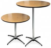 Coctail or pedestal tables